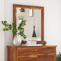 Santa Barbara Handcrafted Solid Wood Mirror Frame