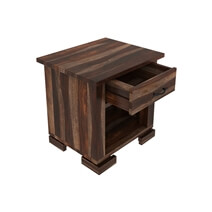 Athena Solid Wood 1 Drawer Nightstand