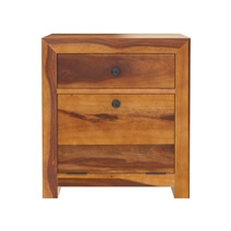 Texas 24 Solid Wood Nightstand with Drawer