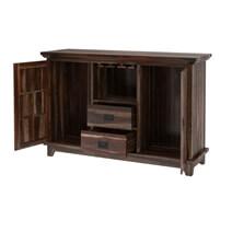 Alabama Modern Stylish Solid Wood 2 Drawer Sideboard Cabinet