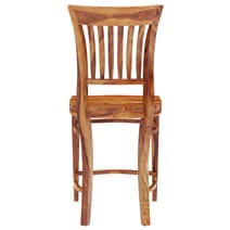 Santa Cruz Solid Wood Tall Back Dining Chair