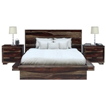 Virginia Modern 4 Piece Bedroom Set