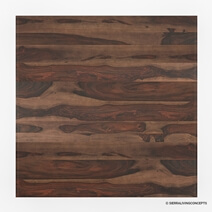 Richmond Rustic Solid Wood Square Dining Table