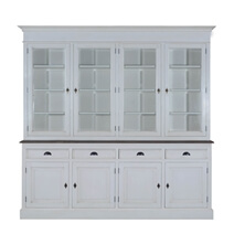 Toronto Teak & Solid Wood Dining Room White Hutch