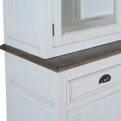 Toronto Teak & Solid Wood Dining Room White Hutch