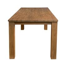 Edmonton Contemporary Reclaimed Teak Wood Rectangle Large Dining Table
