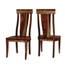 Bedford Handcrafted Single Slat Back Solid Wood Dining Chair