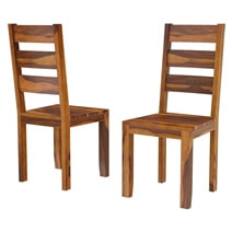 Cariboo Contemporary Rustic Solid Wood Dining Table and Chair Set