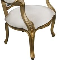 Davis Marilyn Monroe Solid Wood Traditional Royal Arm Chair