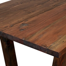 Graceville Contemporary Handcrafted Solid Teak Wood Large Dining Table