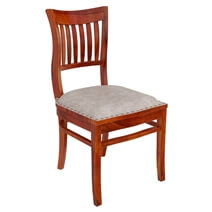 Chantilly Chic Handcrafted Rosewood Side Dining Chair