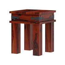 Altamont Traditional Style Solid Wood Coffee Table Set