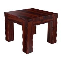 Yakima Rustic Solid Wood 3 Piece Coffee Table Set