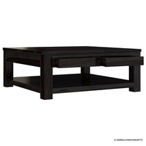 Glencoe Solid Wood 3 Piece Coffee Table Set