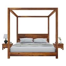 Osteen Contemporary 4 Piece Bedroom Set
