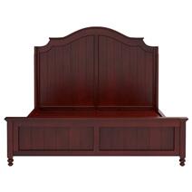 Iowa Traditional Style Mahogany Wood 4 Piece Bedroom Set
