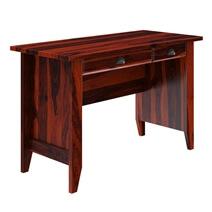 Brenda Rustic Solid Wood 2 Drawer Writing Desk
