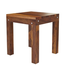 Patet Contemporary Rustic Solid Wood 3 Piece Coffee Table Set