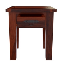 Tierra Rustic Style Solid Wood 3 Piece Coffee Table Set