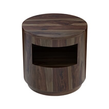 Ladonia Rustic Contemporary 3 Piece Round Coffee Table Set