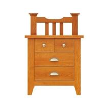 Longport Traditional Style Mahogany Wood 4 Drawer Nightstand