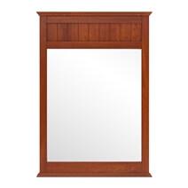 Delanson Solid Mahogany Wood Mirror Frame