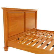 Wamsutter Solid Mahogany Wood Platform Bed