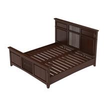 Bardugo Traditional Mahogany Wood 6 Piece Bedroom Set