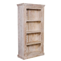 Imbler Rustic Reclaimed Wood Handcrafted Home Office Bookcase