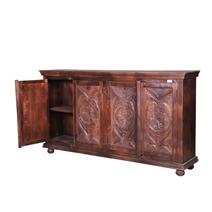 Bentonia Reclaimed Wood Handcrafted Door Large Rustic Buffet