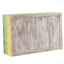 Clarksville Multicolor Hand Painted Reclaimed Wood Chest of 13 Drawers