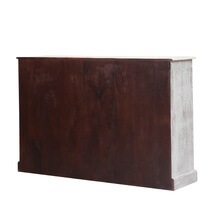 Harriston Rustic Reclaimed Wood Dual Tone Chest Of Drawers