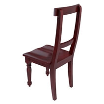 Arenzville Solid Mahogany Wood Dining Chair