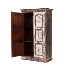 Branchville Handcrafted Reclaimed Wood Rustic Armoire