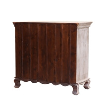 Titonka Rococo Contemporary Reclaimed Wood 4 Dresser