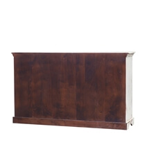 Colborne Distressed Reclaimed Wood 3 Drawer Antique Large Sideboard
