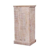 Whitsett Reclaimed Distressed Wood Handcrafted Accent Storage Cabinet