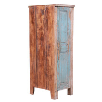 Lynnview Classical Rustic Distressed Reclaimed Wood Storage Cabinet