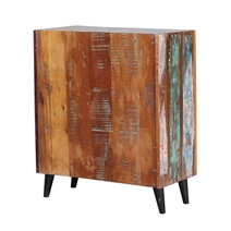 Randlett Distressed Reclaimed Wood Rustic Storage Cabinet