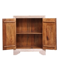 Arley Handcrafted Reclaimed Wood Storage Cabinet