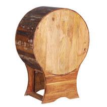 Belmont Reclaimed Wood Wine Bottle Storage Bar Cabinet