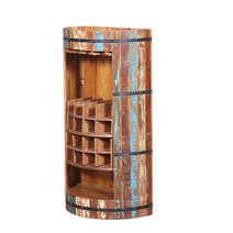 Baileyton Reclaimed Wood Wine Bar Cabinet