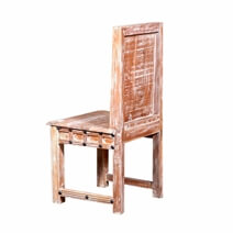 Alyssa Handcrafted Waffle Back Reclaimed Wood Dining Chair