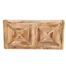 Beclabito Rustic Reclaimed Wood Coffee Table