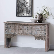 Oradell Heritage Reclaimed Wood Console Table
