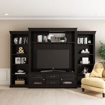 Orick Solid Wood Entertainment Center For TVs up to 60
