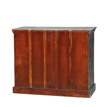 Bromley Rustic Reclaimed Wood Chest Of Drawers