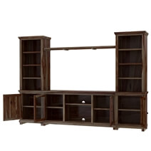 Towson Solid Wood Entertainment Center For TVs Up To 70