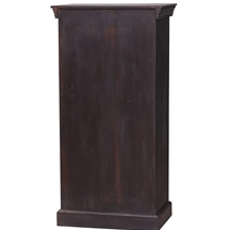 Wolcott Handcrafted Rustic Reclaimed Wood Storage Cabinet