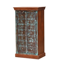 Groveland Handcrafted Rustic Reclaimed Wood Storage Cabinet
